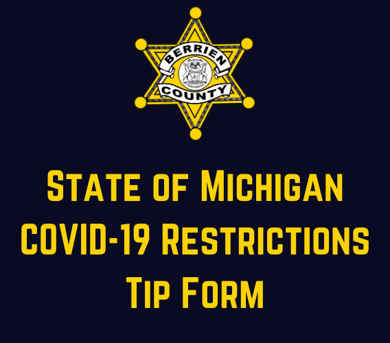 State of Michigan COVID-19 Restrictions Tip Form