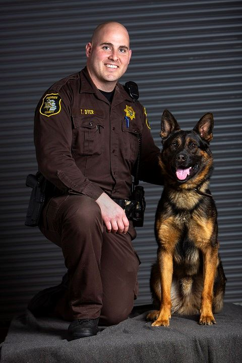 DeputyDyer and K9 Maxx